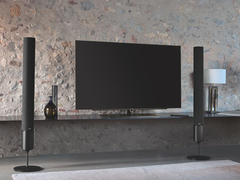 smart LED TV with a sound system